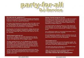 party-for-all DJ Service